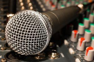 micrófono Productora Audiovisual