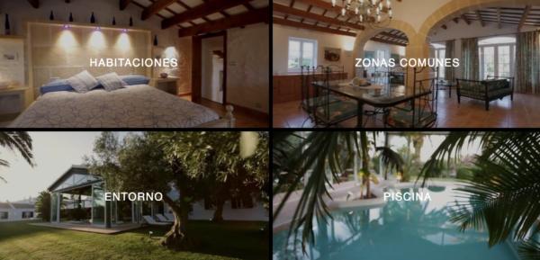 Visita interactiva: casa rural