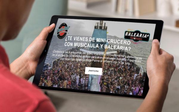 MusicAula – Baleària 2018 – Vídeo interactivo