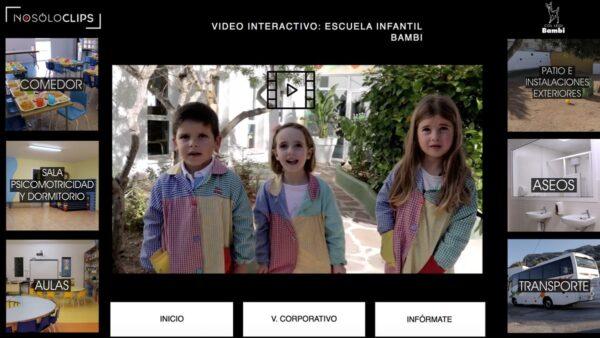 ESCUELA INFANTIL BAMBI: VÍDEO INTERACTIVO